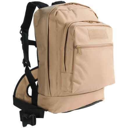 Heavy-Duty Utility 22L Backpack in Tan - Closeouts
