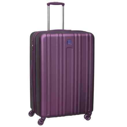 """Hedgren 29"""" Transit Gate Expandable Hardside Spinner Suitcase in Purple Passion - Closeouts"""