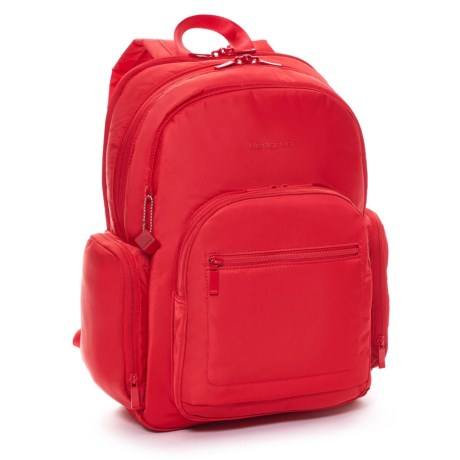 Hedgren Inter City Tour 16L Backpack in Tango Red
