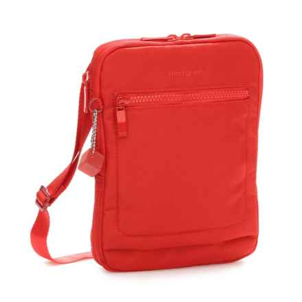 Hedgren Inter City Trek Small Vertical Crossover Bag in Tango Red - Closeouts
