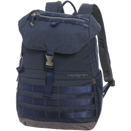 Hedgren Knock Out Cassiel 15L Backpack in Parisian Night Blue