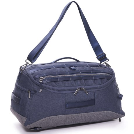 Hedgren Knock Out Floyd Duffel Backpack in Parisian Night Blue