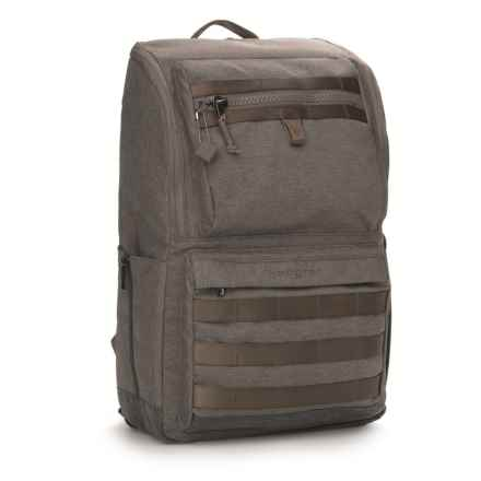 Hedgren Knock Out Tennin 21L Backpack Medium in Falcon Grey - Closeouts