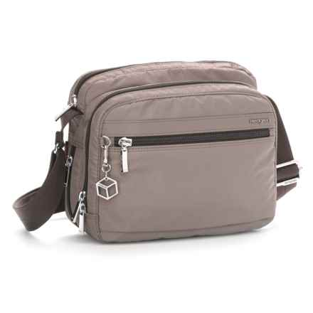 Hedgren Metro Expandable Crossbody Bag (For Women) in Sepia - Closeouts
