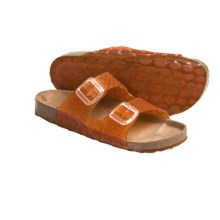 Helle Comfort Jane Sandals (For Women) in Orange - Closeouts