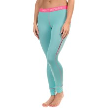 Helly Hansen Active Flow Base Layer Bottoms (For Women) in Sea Breeze - Closeouts