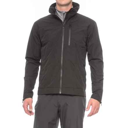 Helly Hansen Ask Crew Jacket - Waterproof (For Men) in Black - Closeouts