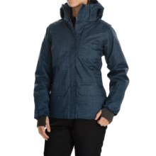 Helly Hansen Blanchette PrimaLoft® Ski Jacket - Waterproof, Insulated (For Women) in Deep Blue - Closeouts