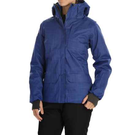 Helly Hansen Blanchette PrimaLoft® Ski Jacket - Waterproof, Insulated (For Women) in Princess Purple - Closeouts