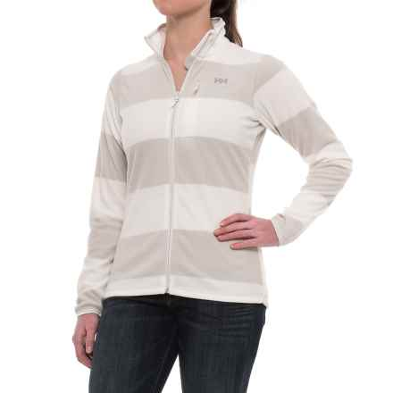 Helly Hansen Bykle Graphic Fleece Jacket (For Women) in Nimbus Cloud - Closeouts