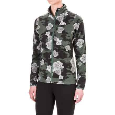 Helly Hansen Bykle Graphic Fleece Jacket (For Women) in Rock - Closeouts