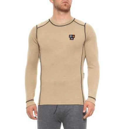 Helly Hansen Camrose Flame-Retardant Base Layer Top - Long Sleeve (For Men) in Khaki - Closeouts