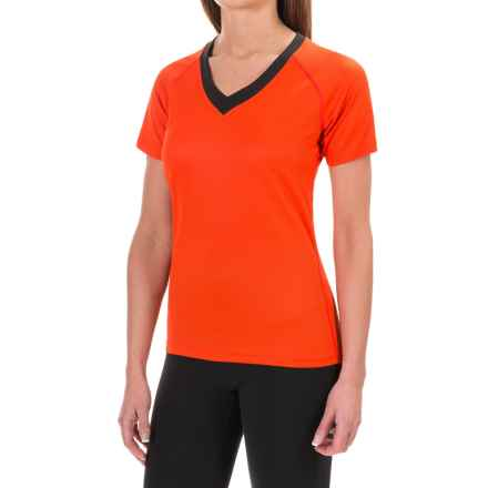 Helly Hansen Challenger III Shirt - Short Sleeve (For Women) in Sunrise - Closeouts
