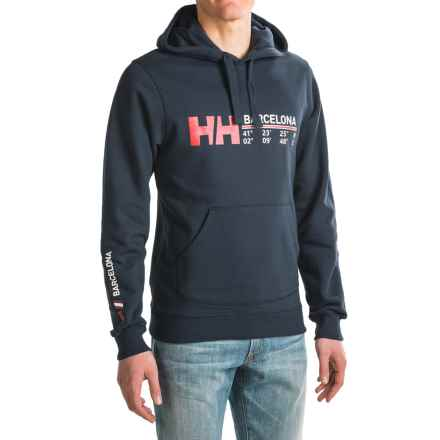 Helly Hansen City Hoodie (For Men) in Navy Barcel - Closeouts