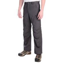 Helly Hansen Converter Zip-Off Pants - UPF 50+ (For Men) in Ebony - Closeouts