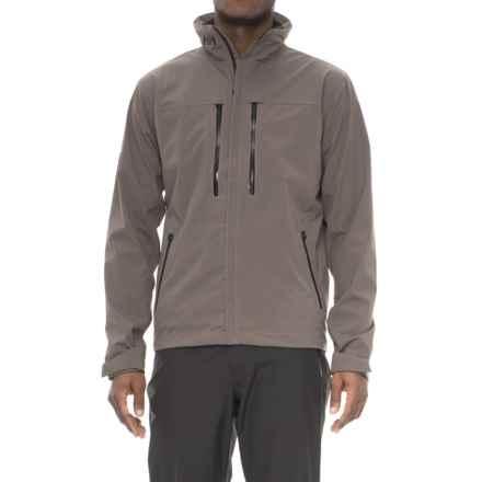 Helly Hansen Crew H2Flow Polartec® Micro® Jacket - Waterproof (For Men) in Dark Gull Grey - Closeouts