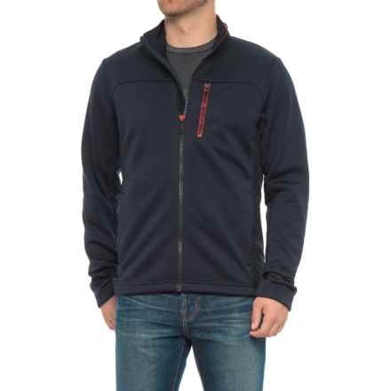 Helly Hansen Crew PrimaLoft® Fleece Jacket - Insulated (For Men) in Navy - Closeouts