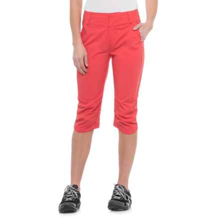 Helly Hansen Crewline Capris - UPF 30+ (For Women) in Cayenne - Closeouts