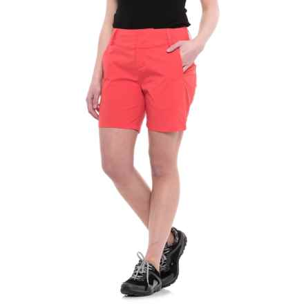 Helly Hansen Crewline Shorts - UPF 30+ (For Women) in Cayenne - Closeouts