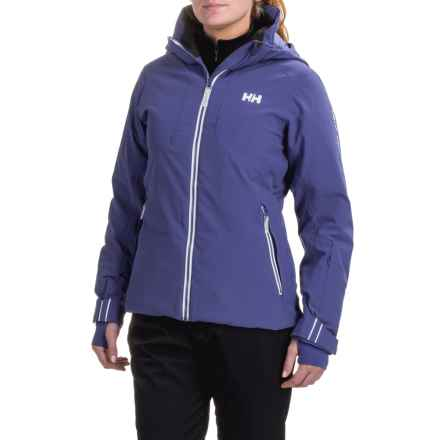 Helly Hansen Crystal PrimaLoft® Jacket - Waterproof, Insulated (For Women) in Princess Purple - Closeouts