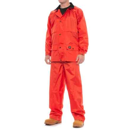 Helly Hansen Dartmouth Packable Storm Suit - 2-Piece (For Men) in Orange - Closeouts
