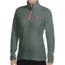 Helly Hansen Daybreaker Fleece Jacket - Polartec®, Zip Neck (For Women) in Rock - Closeouts
