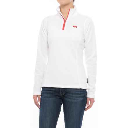 Helly Hansen Daybreaker Fleece Jacket - Polartec®, Zip Neck (For Women) in White - Closeouts