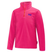 Helly Hansen Daybreaker Fleece Jacket - Zip Neck (For Little and Big Kids) in Magenta - Closeouts
