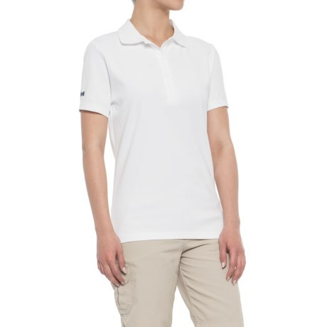 Helly Hansen Dove Polo Shirt - Short Sleeve (For Women) in White