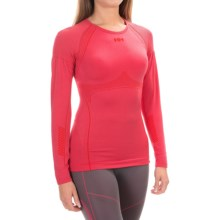 Helly Hansen Dry Elite 2.0 Base Layer Top - Long Sleeve (For Women) in Pink Glow - Closeouts