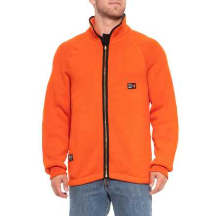 Helly Hansen Duluth Flame-Retardant Thermal Jacket - Full Zip (For Men) in Orange - Closeouts