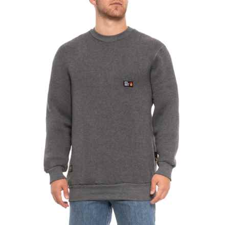 Helly Hansen Duluth Flame-Retardant Thermal Sweater (For Men) in Dark Grey - Closeouts
