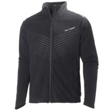 Helly Hansen Early Bird Fleece Jacket (For Men) in Black - Closeouts