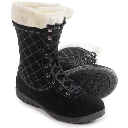 Helly Hansen Eir 4 Snow Boots - Waterproof (For Women) in Black - Closeouts