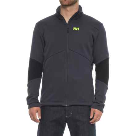 Helly Hansen EQ Black Midlayer Jacket (For Men) in Graphite Blue - Closeouts