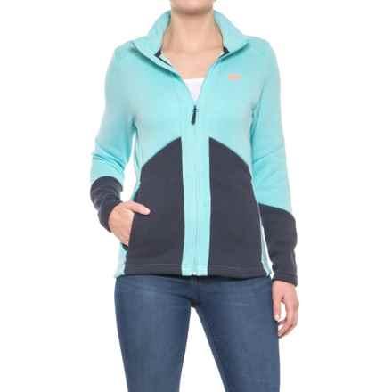 Helly Hansen EQ Black Midlayer Jacket (For Women) in Glacier - Closeouts