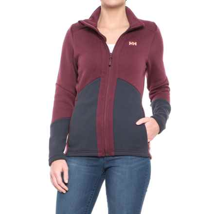 Helly Hansen EQ Black Midlayer Jacket (For Women) in Port - Closeouts