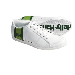 Helly Hansen Faerder Shoes - Leather (For Men) in White/Rainforest