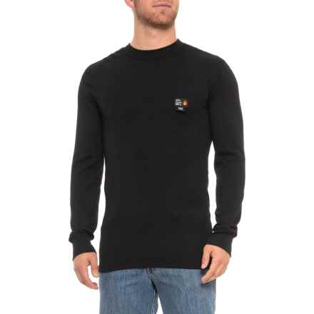 Helly Hansen Fargo Flame-Retardant Base Layer Top - Long Sleeve (For Men) in Black - Closeouts