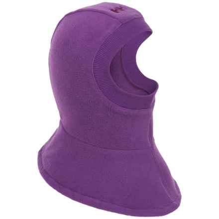Helly Hansen Fleece Balaclava (For Little and Big Kids) in Sunburned Purple - Closeouts