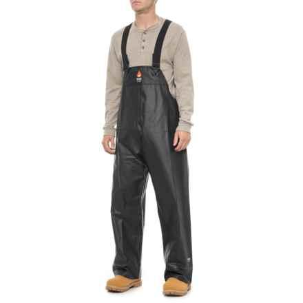 Helly Hansen Fox Creek Flame-Retardant Double Bib Pants - HRC 2 (For Men) in Black - Closeouts