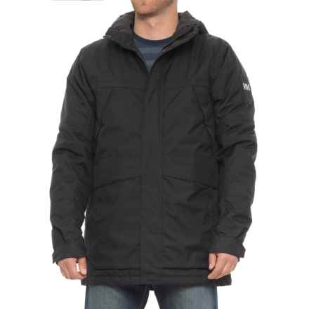 Helly Hansen Harbour PrimaLoft® Parka - Insulated (For Men) in Black - Closeouts