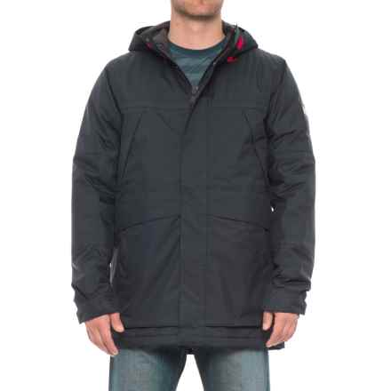 Helly Hansen Harbour PrimaLoft® Parka - Insulated (For Men) in Navy - Closeouts