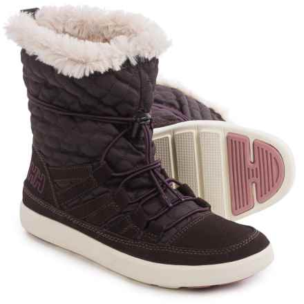 Helly Hansen Harriet Boots (For Women) in Coffe Bean - Closeouts