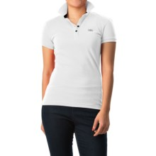 Helly Hansen HH Classic Polo Shirt - Short Sleeve (For Women) in White - Closeouts
