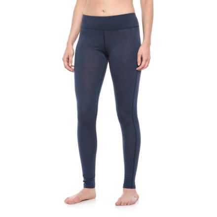 Helly Hansen HH Merino Mid Base Layer Pants - Merino Wool (For Women) in Graphite Blue - Closeouts