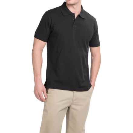 Helly Hansen HH Polo Shirt - Short Sleeve (For Men) in Black - Closeouts