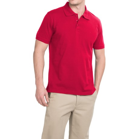 Helly Hansen HH Polo Shirt - Short Sleeve (For Men) in Red