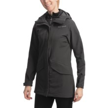 Helly Hansen Hilton Parka - Soft Shell (For Women) in Ebony - Closeouts