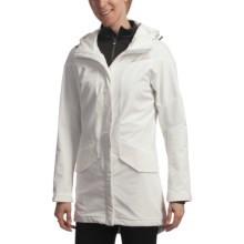 Helly Hansen Hilton Parka - Soft Shell (For Women) in Hh White - Closeouts